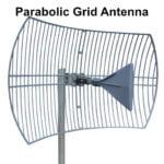 Parabolic Grid Cell Antenna